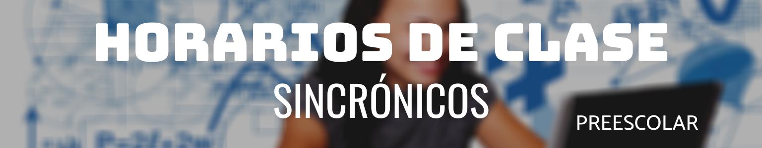 HORARIOS DE CLASE SINCRÓNICOS (4)